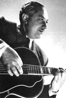 The well known jazz guitarist Ivor Mairants